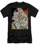 Scrap Yard X-ray Men's T-Shirt (Athletic Fit)