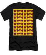 Serendipity Butterflies Brickgoldblue 26 Men's T-Shirt (Athletic Fit)
