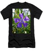 Shaded Greater Periwinkle Men's T-Shirt (Athletic Fit)