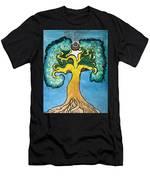 Shaman Arbre Men's T-Shirt (Athletic Fit)