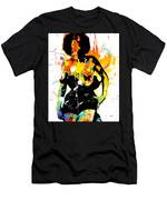 Simplistic Splatter Men's T-Shirt (Athletic Fit)