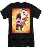 Singing Santa Men's T-Shirt (Athletic Fit)