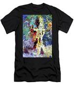 Sitting Nu Abstract Men's T-Shirt (Athletic Fit)