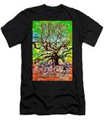Sitting Under The Live Oaks Men's T-Shirt (Athletic Fit)