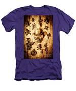 Skeleton Pendant Party Men's T-Shirt (Athletic Fit)