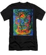 Skull Island Men's T-Shirt (Athletic Fit) by Kendall Kessler