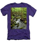 Smoky Mountain Stream 2 Men's T-Shirt (Athletic Fit)