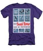 Snail Fever Men's T-Shirt (Athletic Fit)