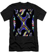 Space Needle And The Experience Music Project Men's T-Shirt (Athletic Fit)