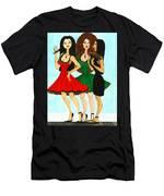 Spanish Girls Men's T-Shirt (Athletic Fit)