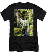 Spanish Moss Over The Swamp Men's T-Shirt (Athletic Fit)