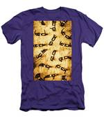 Spectating A Geeky Visual Men's T-Shirt (Athletic Fit)