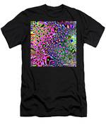 Spectrum Of Abstract Shapes Men's T-Shirt (Athletic Fit)