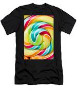 Spiral Candy  Men's T-Shirt (Athletic Fit)