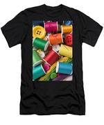 Spools Of Thread With Buttons Men's T-Shirt (Athletic Fit)