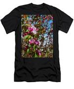 Spring Apple Blossoms- Spring Flowers Men's T-Shirt (Athletic Fit)