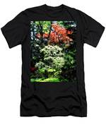 Spring Trees Men's T-Shirt (Athletic Fit)