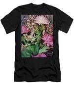 Springtime With Flowers Men's T-Shirt (Athletic Fit)