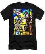 Stained Glass Beauty #9 Men's T-Shirt (Athletic Fit)