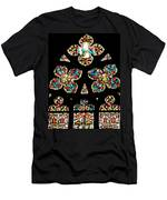 Stained Glass Glory Men's T-Shirt (Athletic Fit)