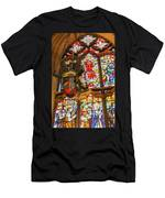Stained Glass Lantern And Window Men's T-Shirt (Athletic Fit)
