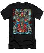 Stained Glass Owl  Men's T-Shirt (Athletic Fit)