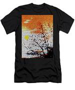 Stained Glass Sunset Men's T-Shirt (Athletic Fit)