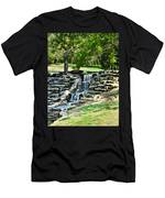 Stairway To Water Men's T-Shirt (Athletic Fit)