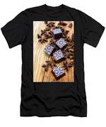 Star Anise Chocolate Men's T-Shirt (Athletic Fit)