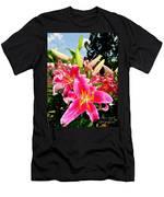 Stargazer Lilies #2 Men's T-Shirt (Athletic Fit)