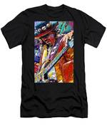 Stevie Ray Vaughan Number One Men's T-Shirt (Athletic Fit)