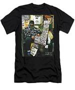 Street Preacher On The A Train Men's T-Shirt (Athletic Fit)