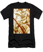 String Of Buttons Men's T-Shirt (Athletic Fit)