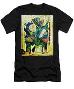 Striped Tulips At The Old Apartment Men's T-Shirt (Athletic Fit)