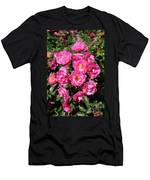 Stunning Pink Roses Men's T-Shirt (Athletic Fit)