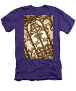 Subtle Southern Charm In Sepia Men's T-Shirt (Athletic Fit)