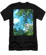 Summer Clouds Men's T-Shirt (Athletic Fit)