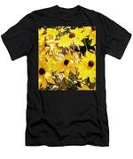 Sun Flower Glory Men's T-Shirt (Athletic Fit)