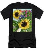 Sunflower Bouquet Men's T-Shirt (Athletic Fit)