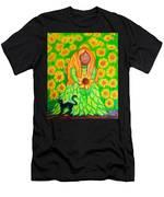 Sunflower Princess Men's T-Shirt (Athletic Fit)