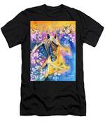 Sunset Mustang Men's T-Shirt (Athletic Fit)