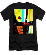 Sunshine And Poppies Men's T-Shirt (Athletic Fit)