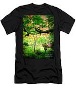 Sunshine In The Garden Men's T-Shirt (Athletic Fit)