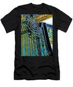 Surreal Reflection And Wrought Iron Men's T-Shirt (Athletic Fit)