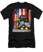 Symbols Of Heroism Men's T-Shirt (Athletic Fit)