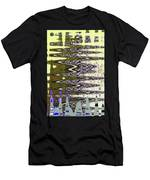 Tall Tempe Building Abstract Men's T-Shirt (Athletic Fit)