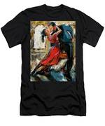Tango By The Window Men's T-Shirt (Athletic Fit)