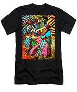 Tango Dance Of Love Men's T-Shirt (Athletic Fit)