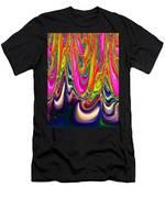 Technicolor Magma Men's T-Shirt (Athletic Fit)