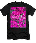 Thank You 1 Men's T-Shirt (Athletic Fit)